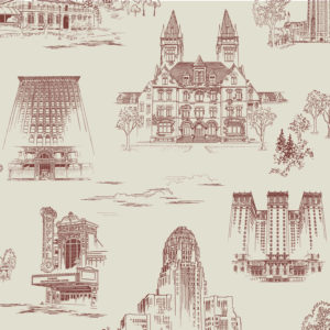 QCT3 swatch 1500 300x300 - Queen City Toile - Sullivan